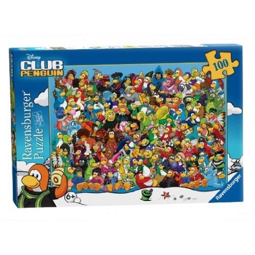 Club Penguin 'Xx-large' 100 Piece Jigsaw Puzzle Game