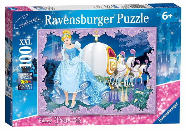 Disney Princess 'Cinderella' XXL 100 Piece Jigsaw Puzzle Game