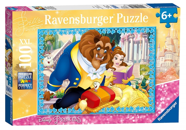 Disney Princess 'Belle' XXL 100 Piece Jigsaw Puzzle Game