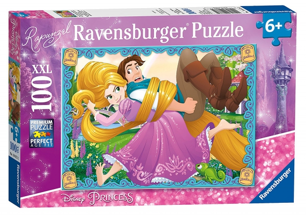 Disney Princess 'Rapunzel' XXL 100 Piece Jigsaw Puzzle Game