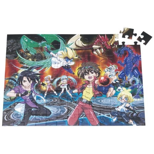 Bakugan 100 Piece Jigsaw Puzzle Game