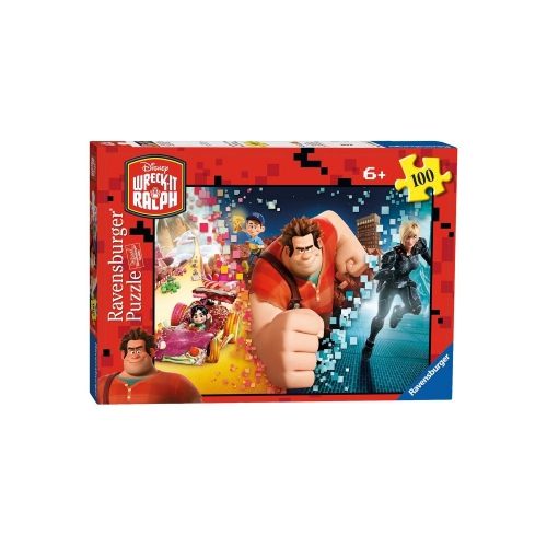 Disney Wreck It Ralph 100 Piece Jigsaw Puzzle Game