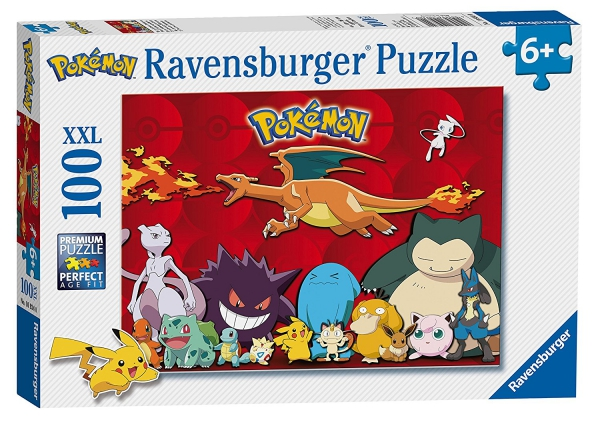 Pokemon 'XXL' 100 Piece Jigsaw Puzzle Game