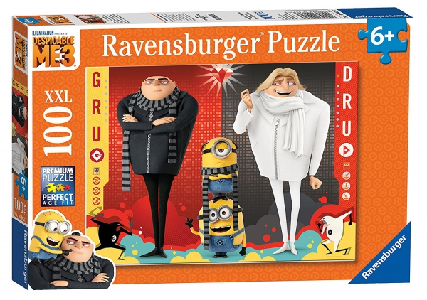 Despicable Me 3 'Minions' XXL 100 Piece Jigsaw Puzzle Game