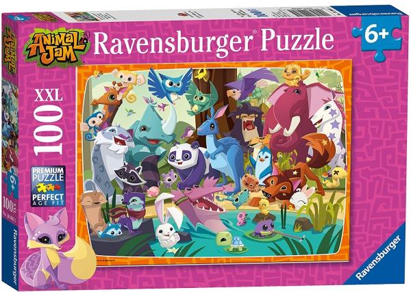 Animal Jam 'XXL' 100 Piece Jigsaw Puzzle Game