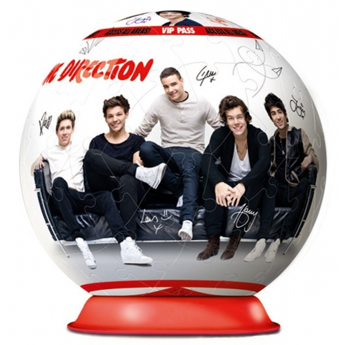 One Direction Group Shot 72piece 3d Jigsaw Puzzle Game
