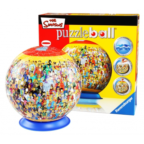 The Simpsons Cast 270 Ball Jigsaw Puzzle Game