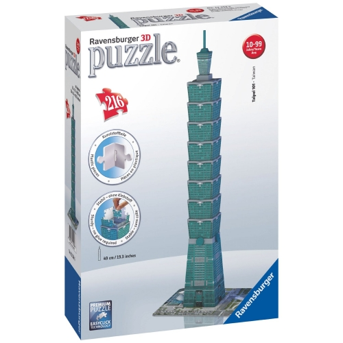 Taipei Tower Building 216 Piece 3d Jigsaw Puzzle Game
