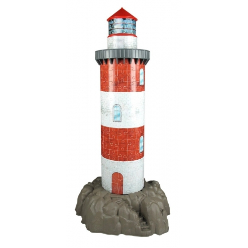 Coastal Lighthouse 216 Piece 3d Jigsaw Puzzle Game