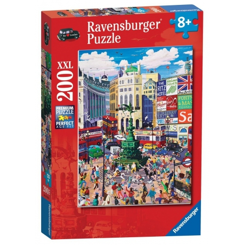 Piccadilly Circus XXL 200 Piece Jigsaw Puzzle Game