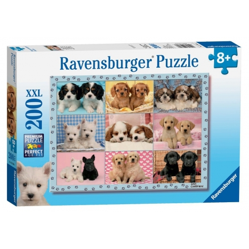 Perfect Pups XXL 200 Piece Jigsaw Puzzle Game
