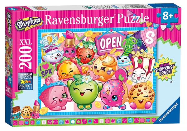 Shopkins 'XXL' 200 Piece Jigsaw Puzzle Game