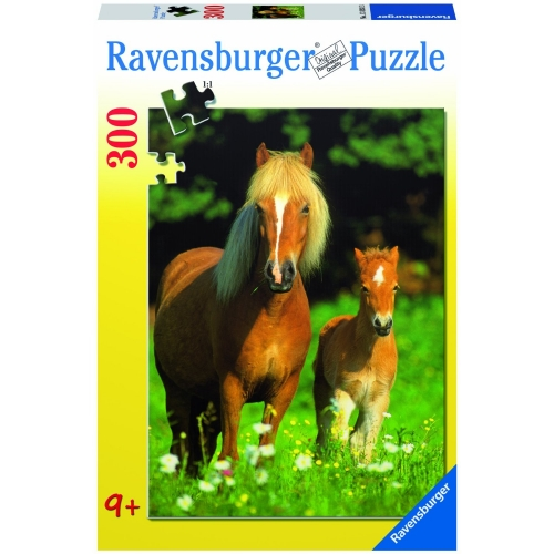 Happy Horses 300 Piece Jigsaw Puzzle Game