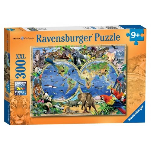 World of Wildlife 'XXL' 300 Piece Jigsaw Puzzle Game