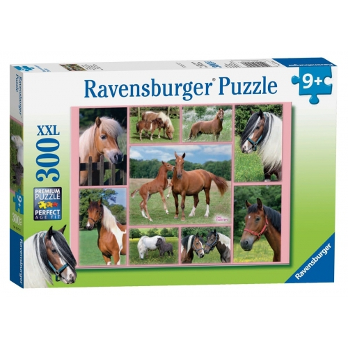 Horse Heaven (xxl) 300 Piece Jigsaw Puzzle Game