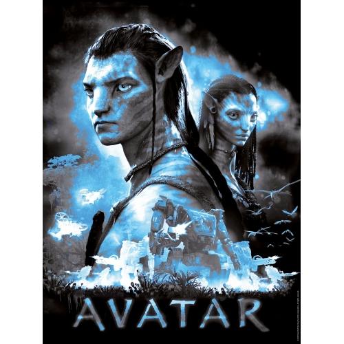 Avatar Jake and Neytiri 500 Piece Jigsaw Puzzle Game