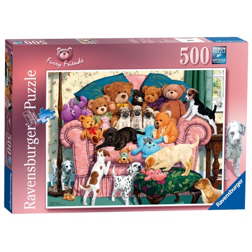 Ravensburger 'Furry Friends' 500 Piece Jigsaw Puzzle Game