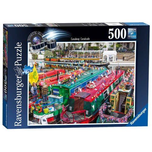 Photo Gallery #8 Canalway Cavalcade 500 Piece Jigsaw Puzzle Game