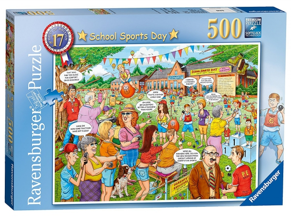 School Sports Day 500 Piece Jigsaw Puzzle Game