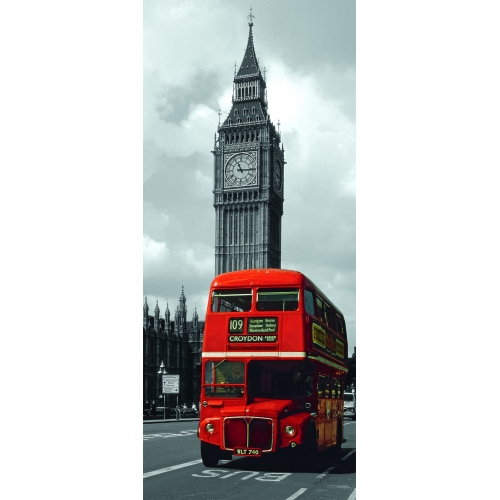 London Bus 'Panorama' 170 Piece Jigsaw Puzzle Game