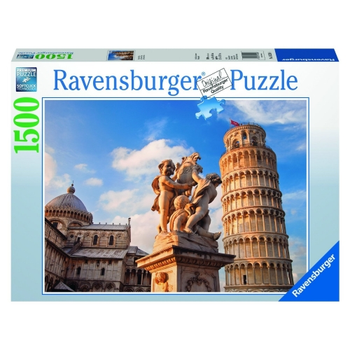 Leaning Tower of Piza 1500 Piece Jigsaw Puzzle Game