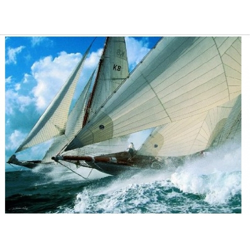 Sailing Adventure 1500 Piece Jigsaw Puzzle Game