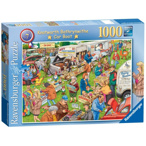 Ravensburger Best of British The Car Boot Sale 1000 Piece Jigsaw Puzzle Game
