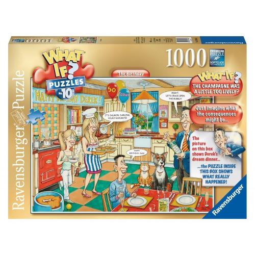 Ravensburger What If? No.10 The Birthday 1000 Piece Jigsaw Puzzle Game