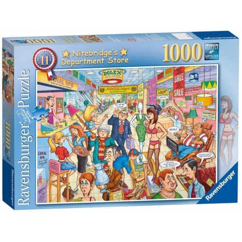 Best of British 'The Department Store' 1000 Piece Jigsaw Puzzle Game