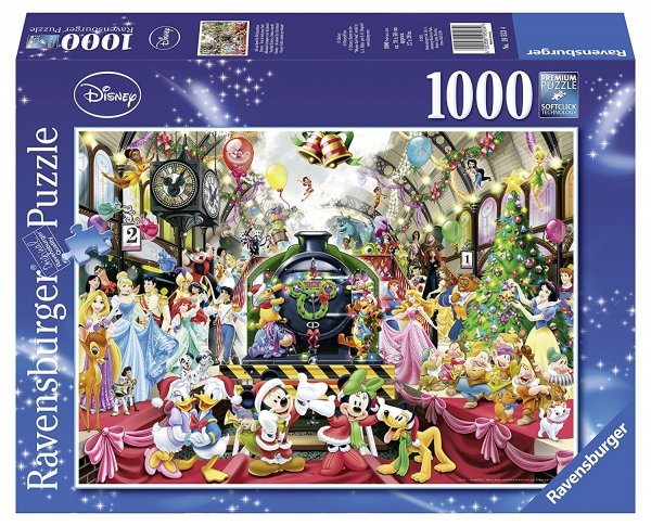 All Aboard For Christmas 1000 Piece Jigsaw Puzzle Game