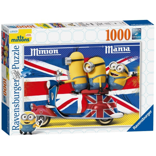 Ravensburger Minions Mania 1000 Piece Jigsaw Puzzle Game