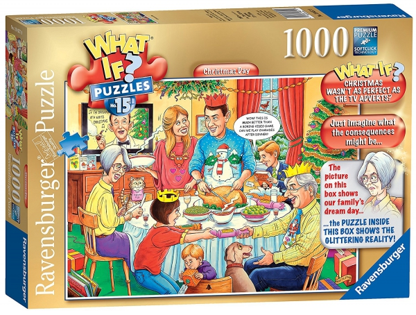 What If? Christmas Day 1000 Piece Jigsaw Puzzle Game