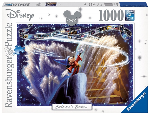 Disney Collector'S Edition ' Fantasia' 1000 Piece Jigsaw Puzzle Game