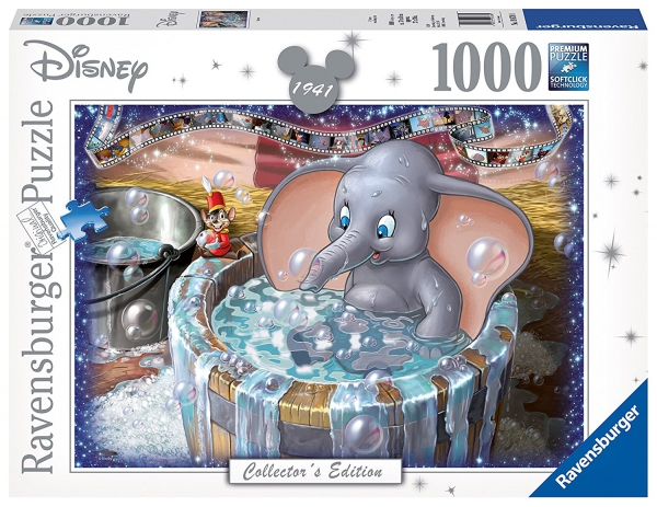Disney Collector'S Edition ' Dumbo' 1000 Piece Jigsaw Puzzle Game