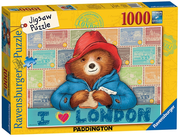Paddington Bear 1000 Piece Jigsaw Puzzle Game