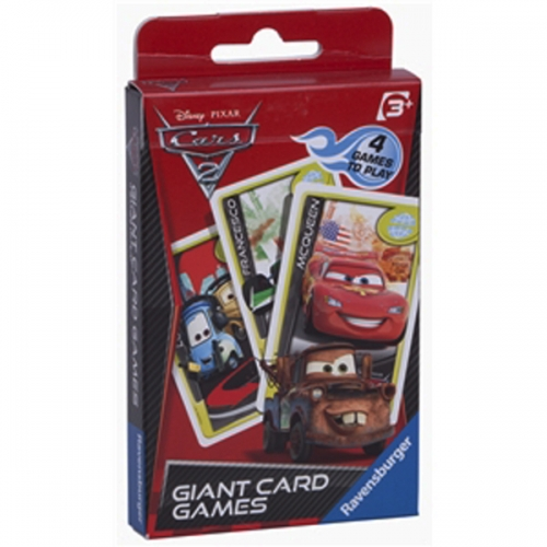 Disney Cars 2 Giant Card Game Puzzle