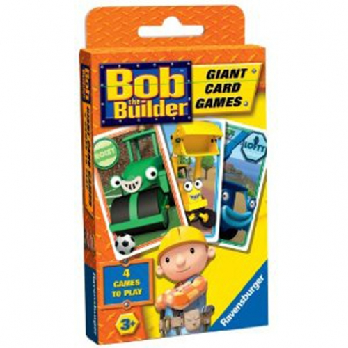 Bob The Builder Giant Card Game Puzzle
