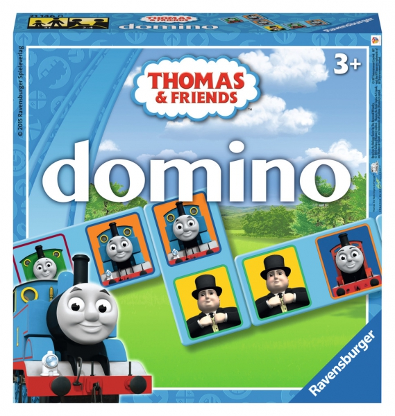 Thomas The Tank Engine Domino Puzzle