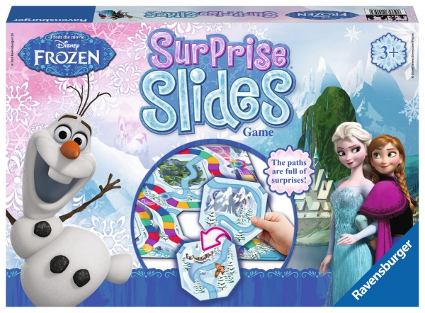 Disney Frozen 'Surprise Slides' Board Game