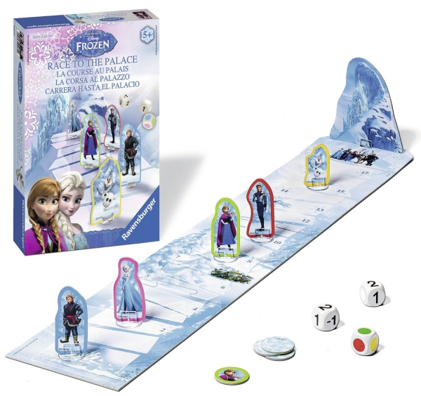 Disney Frozen 'Race To The Palace' Board Game