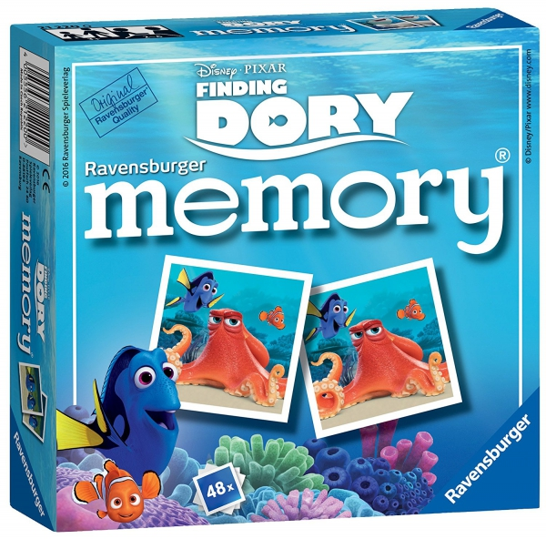 Disney Finding Dory Mini Memory Game Puzzle