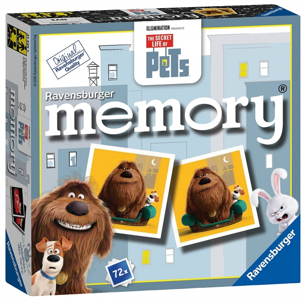 The Secret Life of Pets Mini Memory Game Puzzle