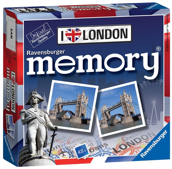 I Love London Mini Memory Game Puzzle