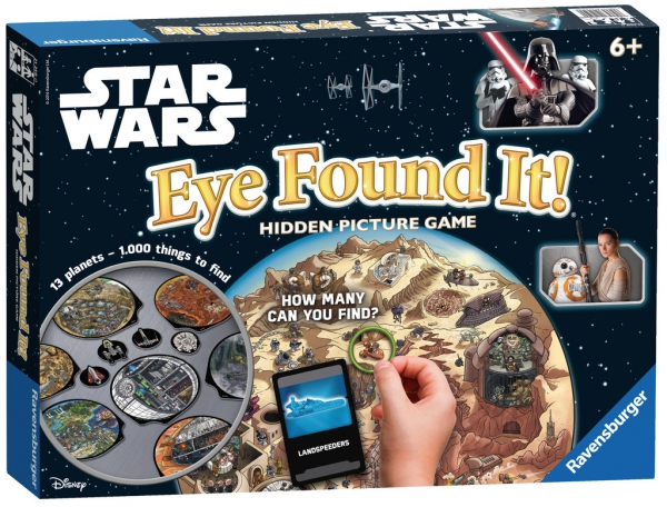 Disney Star Wars Eye Found It Board Game