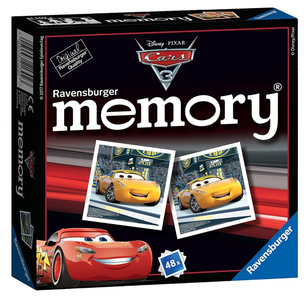 Disney Pixar Cars 3 'Mini' Memory Game Puzzle
