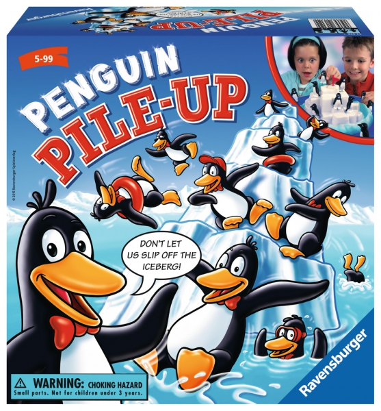 Penguin Pilleup Puzzle