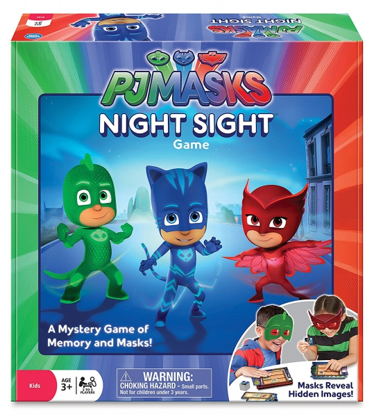 Disney Pj Masks 'Night Sight' Board Game