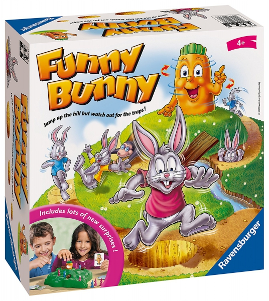 Funny Bunny Board Game
