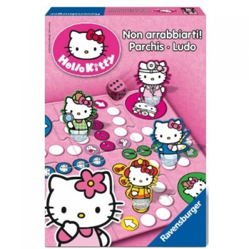 Hello Kitty Parchis Parcheesi Puzzle
