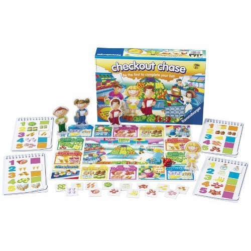 Checkout Chase Game Board Puzzle